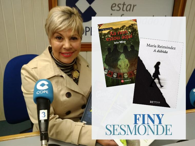 Recomendaciones Libros Finy Sesmonde. Libros Cope. Ferrol. Febrero 2019